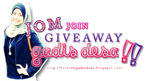 JOM JOIN GIVEAWAY GADIS DESA by mirul