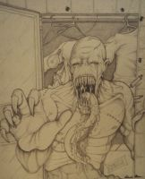 The Nightmare_Traditional Pencil by PatrickOlsen