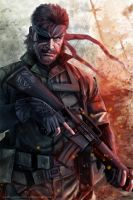 Naked Snake by AngelaBermudez