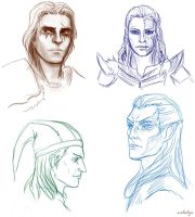 skyrim faces by Milulya
