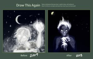Draw This Again - Nightscape by Ikny