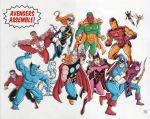 Avengers Assemble by calslayton