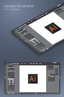 Adobe Illustrator Flat Redesign by hammn