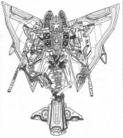 Transformers - Starscream by newvani