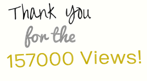 Thank You for the 157000 Views by EarWaxKid