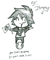 Saint Jimmy by Pocket-Sparrow