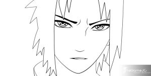 Naruto Ch386 Pg17 LineArt by TheGameJC