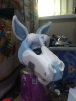 Horse Head WIP~ by Saixpuppy222