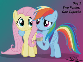 Bootcamp Day 2: Two Ponies, One Cupcake by Sintakhra