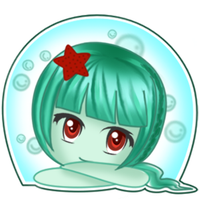 OC: Nyra - Chibi sticker by Squitopus