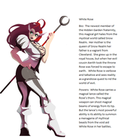 White Rose  bio by Newway12