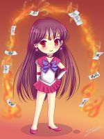 Chibi Sailor Mars by Nawal