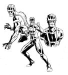 Jet Man Costume Design: Inks by OneshotMiracle