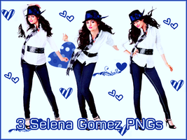 3 Selena Gomez PNGs 1 by BLGraphics614