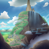 Dragonspiral Tower - Icirrus City by Otakusoul13
