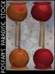 Candy Apples 001 by poserfan-stock