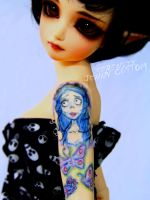 Willow's NEW tattoo by serenityjenny