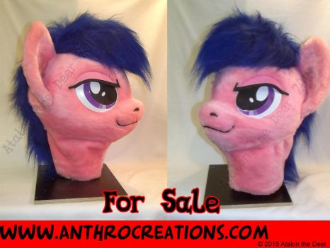 MLP Fursuit Head for Sale by AtalontheDeer