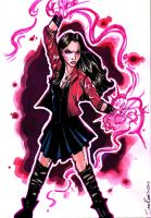 Scarlet Witch - Avengers Age Of Ultron by samrogers