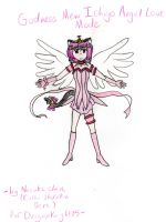 Godness Mew Ichigo Angel Mode by kurai-shiruku