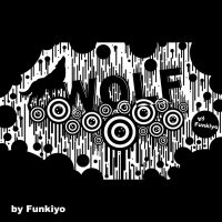 Wolf Abstract by Funkiyo
