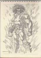Lobo Sketch 001 by omarmsamy