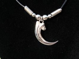 HANDMADE STERLING SILVER BALD EAGLE CLAW NECKLACE by StudMarcs