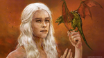 Daenerys by wherethedoodleslive