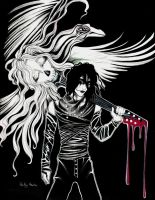 The Crow by Harmony-Walls