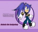 Sonic channel nebula the hedgehog by Xalisha-light-azureX