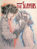 Slayers Zel and Rezo Cover by AmberPalette