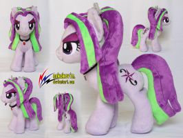 Aria Blaze Plush by nekokevin