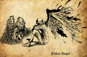Fallen Angel ... by bmad95
