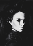 Special Edit: Natalie Portman Demonic 1 by blackmasque99