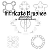 Intricate Brushes by sd-stock