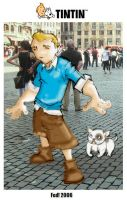 TINTIN by Lapsus-de-Fed