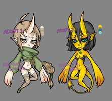 monster girl POINT ADOPTS [CLOSED] by moaningshrubs