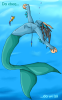 To swim - To be free by Sepseriis