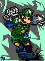 Luigi Strikers by Baldwin2506