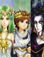 Kid Icarus Uprising Cover Sheet by Davyrox