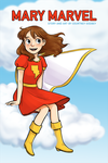 Mary Marvel Cover by courtneygodbey