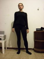 black tights stock 01 by Crystal-Snowflakes