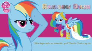 Rainbow Dash Wallpaper by AceofPonies