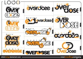 media overdose logo by stitchDESIGN