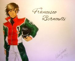 Francesco Bernoulli - Cars2 by BloodyZombie23