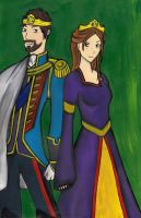 The King and Queen of Albion by Zaphoid13