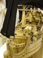 Wooden Pirate Ship II by kate-arthur