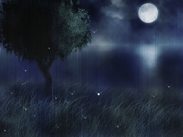 Moonlight Rain by Couiche