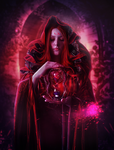 Red Sorceress by zummerfish