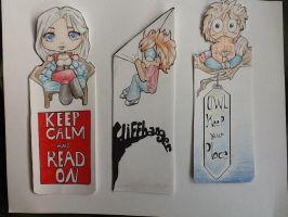 Book mark set 1 by Manny9591